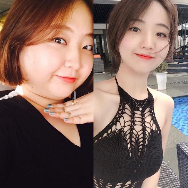 Cô gái Hàn bị bạn trai đá vì béo, giảm cân ngoạn mục xinh như thiên thần - 5