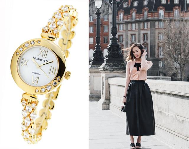 Đốn tim phái đẹp từ cái nhìn đầu tiên với đồng hồ Diamond D - 2