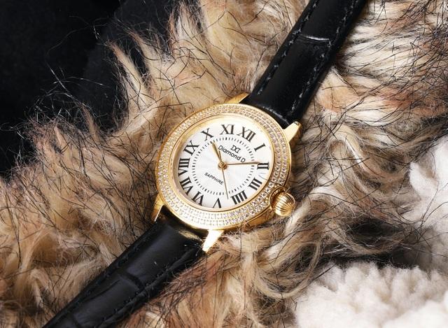 Đốn tim phái đẹp từ cái nhìn đầu tiên với đồng hồ Diamond D - 4