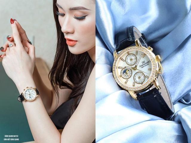 Đốn tim phái đẹp từ cái nhìn đầu tiên với đồng hồ Diamond D - 5
