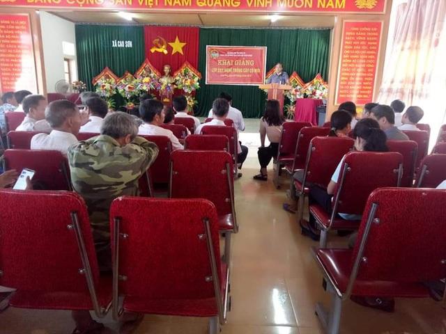 Nghệ An: Tạo việc làm và thu nhập từ đào tạo nghề nông thôn - 1