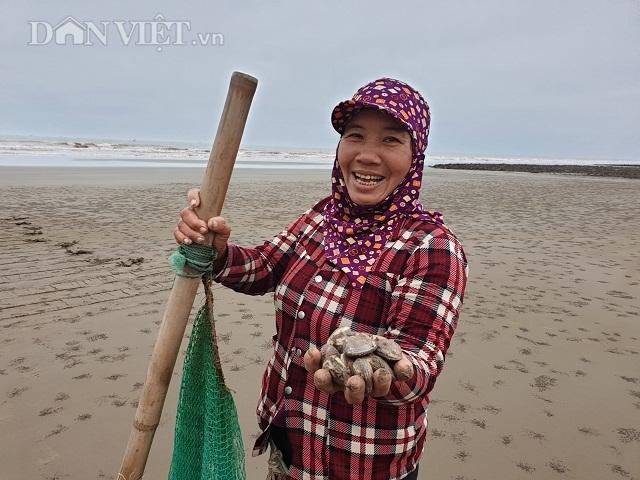 Nghề độc, lạ ở Nam Định: Đi cày trên biển bắt ngao to bự - 4