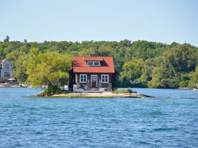 Những ngôi nhà ở vị trí ất ơ khó hiểu - 4