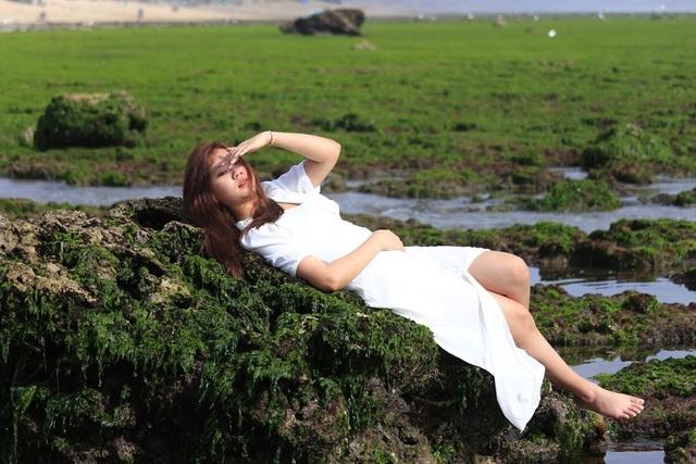 Vẻ đẹp mê hoặc lòng người của cánh đồng rong biển - 8
