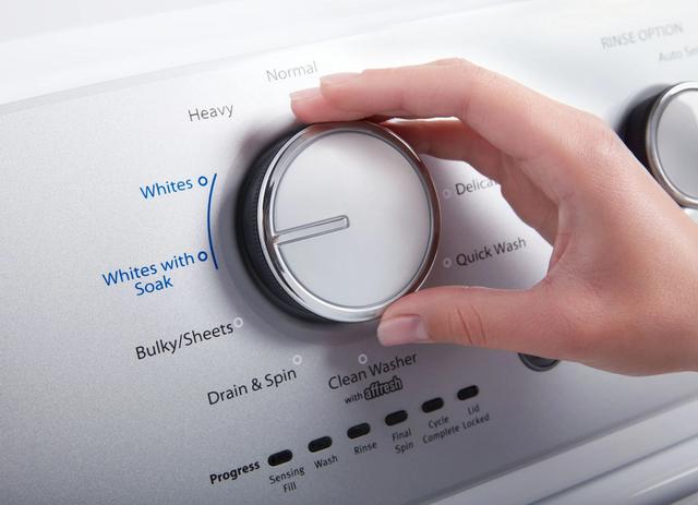 Chọn mức nước, bột giặt và những cách giúp tiết kiệm điện cho máy giặt - 4