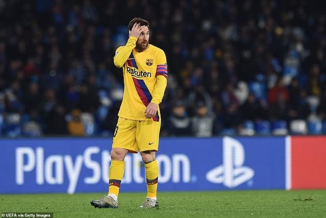 Napoli 1-1 Barcelona: Messi nhạt nhòa, Griezmann lập công - 8