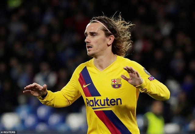 Napoli 1-1 Barcelona: Messi nhạt nhòa, Griezmann lập công - 7