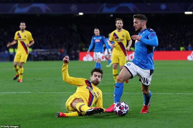 Napoli 1-1 Barcelona: Messi nhạt nhòa, Griezmann lập công - 9
