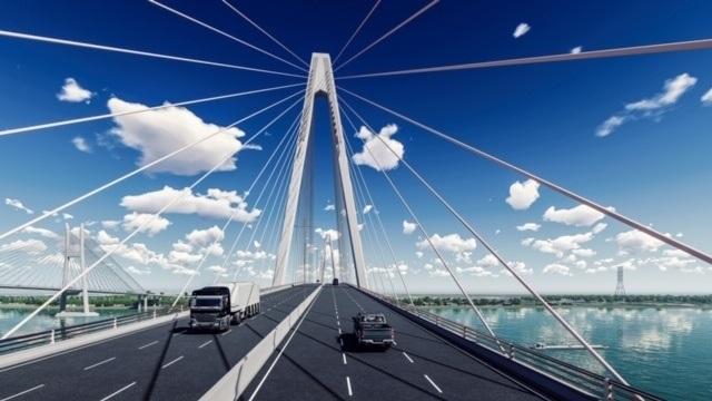 """""""Rót"""" hơn 5.000 tỷ đồng xây dựng dự án cầu Mỹ Thuận 2 - 2"""