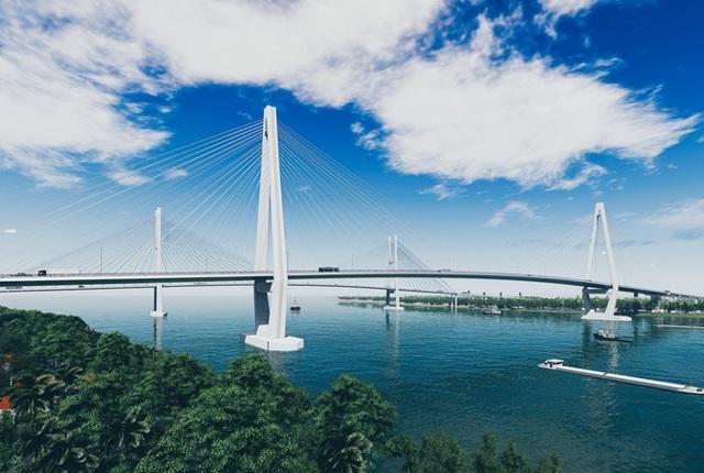 """""""Rót"""" hơn 5.000 tỷ đồng xây dựng dự án cầu Mỹ Thuận 2 - 1"""