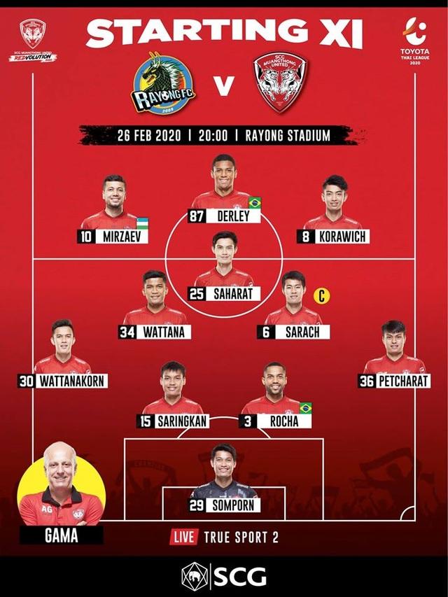 Đặng Văn Lâm dự bị, Muangthong United thắng trận đầu tại Thai-League - 2