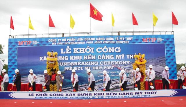 Quảng Trị:  Xây dựng khu bến cảng Mỹ Thủy hơn 14 nghìn tỷ đồng - 1