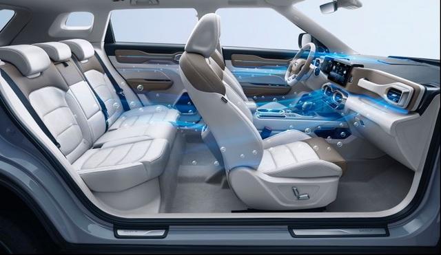 Hãng xe Trung Quốc bắt đầu bán mẫu SUV có thể chặn virus corona - 4