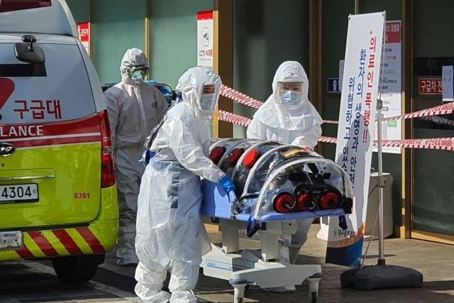 Tăng kỷ lục 594 ca, số người nhiễm corona ở Hàn Quốc lên gần 3.000 - 1