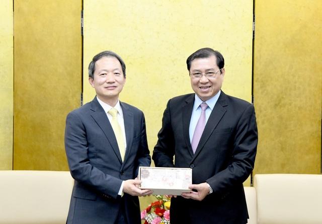 Đà Nẵng đề nghị Tổng Lãnh sự quán Hàn Quốc phối hợp phòng, chống Covid-19 - 1
