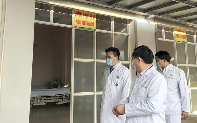 Bí thư Vương Đình Huệ kiểm tra công tác phòng, chống Covid-19 tại bệnh viện - 2