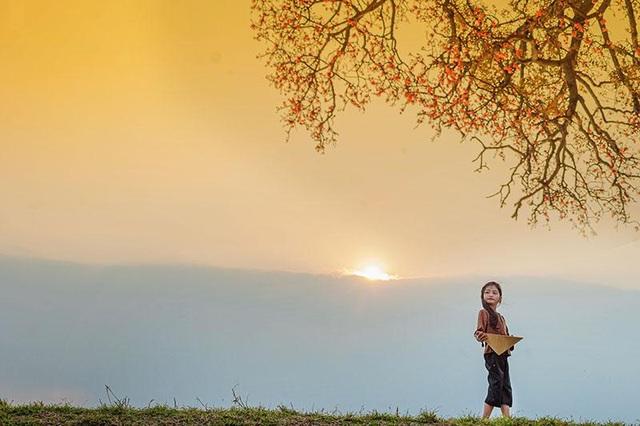Ngắm nét xinh xắn trong veo của em bé thôn quê - 8