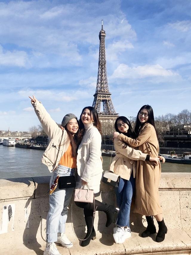 Nhóm bạn thân đại học cùng nhau sang Pháp du học thạc sĩ - 3
