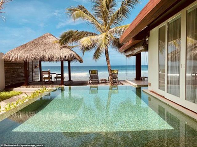 """Những """"mảnh thiên đường bé nhỏ riêng"""" tại Maldives - 12"""