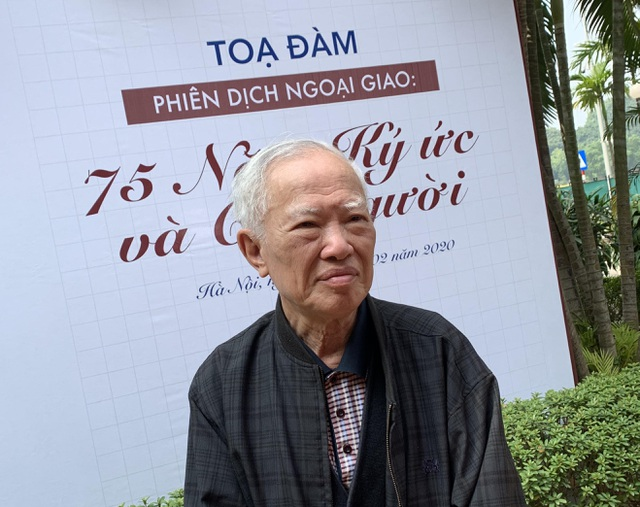 Nguyên Phó thủ tướng Vũ Khoan tiết lộ bí quyết luyện ngoại ngữ của Bác Hồ - 1
