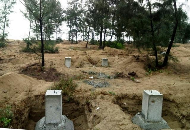 Hà Tĩnh: Rầm rộ dựng hàng trăm container làm nhà trong rừng phòng hộ - 2