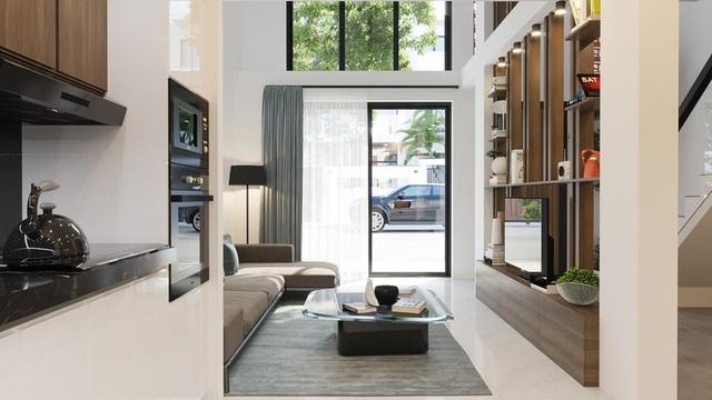 Tầng lửng, giải pháp hữu ích cho những ngôi nhà ở đô thị - 1