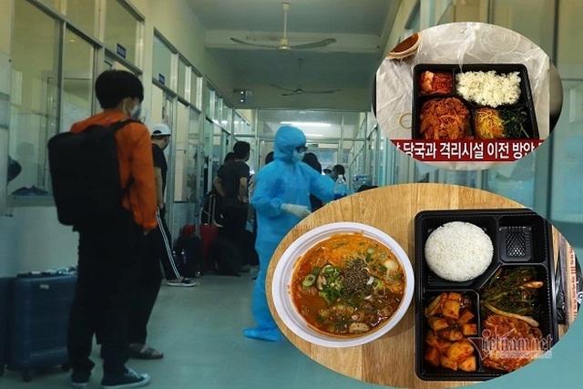 Đà Nẵng lý giải suất ăn 200 ngàn đồng mà khách Hàn Quốc chê tồi tệ khi cách ly - 1