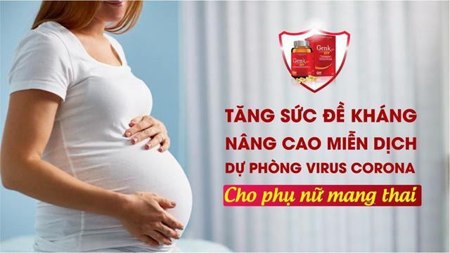 3 cách tăng cường sức đề kháng cho phụ nữ mang thai trong mùa dịch Corona - 1