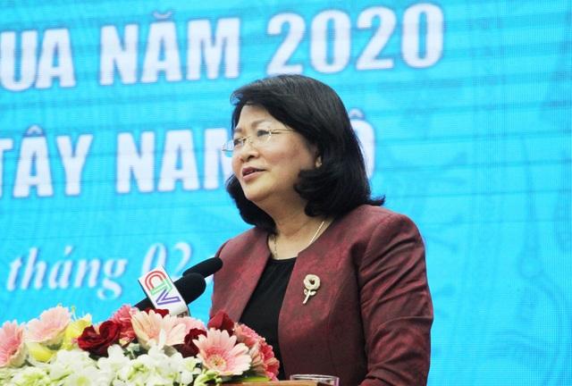 Phó Chủ tịch nước dự hội nghị cụm thi đua Tây Nam Bộ - 1