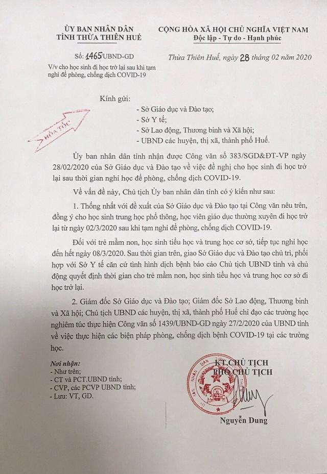 Bình Định, Huế, Đắk Lắk, Cà Mau, Đồng Nai, Gia Lai: HS THPT đi học từ 2/3 - 2