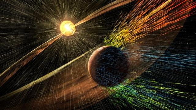 Tàu đổ bộ phát hiện từ trường sao Hỏa bất thường - 1