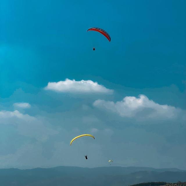 Thử nghiệm bay dù lượn ngắm cảnh trên đèo Con Ó - 9