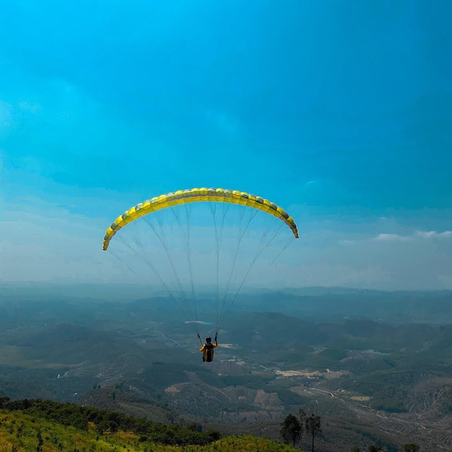 Thử nghiệm bay dù lượn ngắm cảnh trên đèo Con Ó - 8