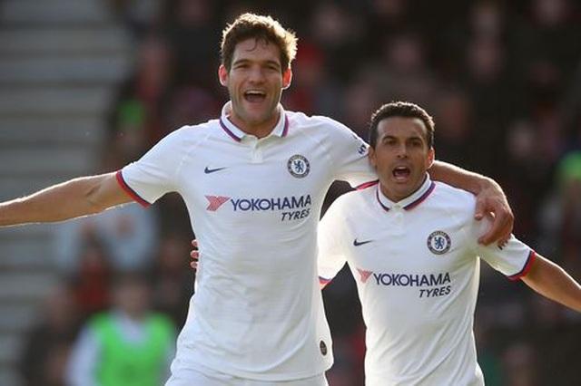 Bournemouth 2-2 Chelsea: Alonso cứu Chelsea thoát thua - 1