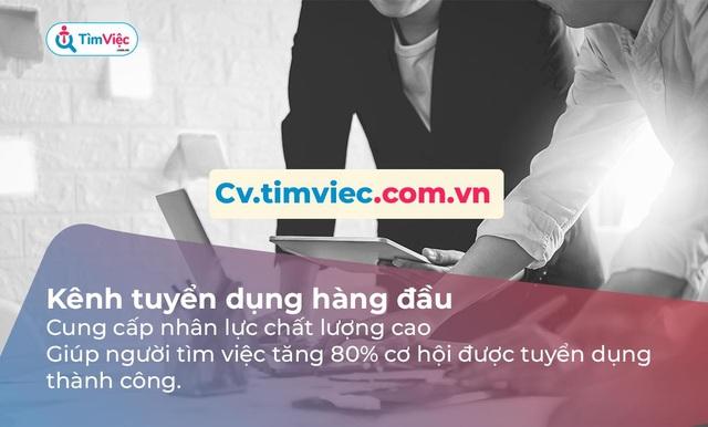 Cv.timviec.com.vn – địa chỉ tạo CV tin cậy cho người tìm việc - 2