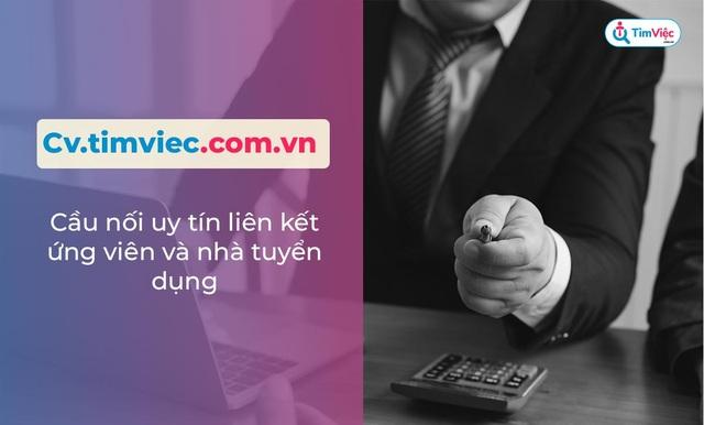 Cv.timviec.com.vn – địa chỉ tạo CV tin cậy cho người tìm việc - 3