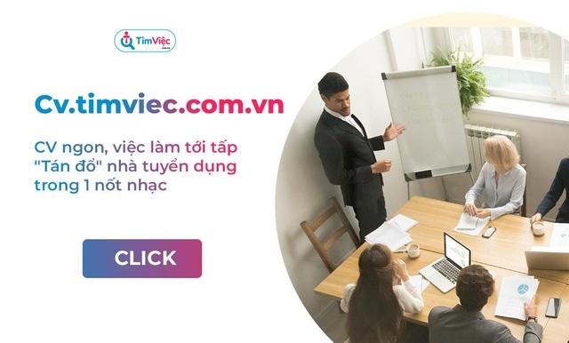 Cv.timviec.com.vn – địa chỉ tạo CV tin cậy cho người tìm việc - 4