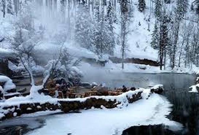 Suối nước nóng cho phép du khách tắm khỏa thân vào buổi tối - 4