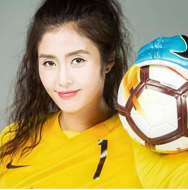 Vẻ đẹp như minh tinh màn ảnh của nữ thủ môn Trung Quốc - 4