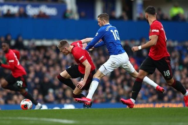 Những khoảnh khắc Man Utd kiếm một điểm vất vả trên sân Everton - Ảnh minh hoạ 11