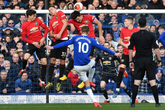 Những khoảnh khắc Man Utd kiếm một điểm vất vả trên sân Everton - Ảnh minh hoạ 17