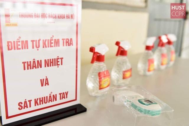 Đón sinh viên trở lại trường, ĐH Bách khoa HN ráo riết chuẩn bị phòng dịch - 2