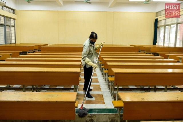 Đón sinh viên trở lại trường, ĐH Bách khoa HN ráo riết chuẩn bị phòng dịch - 4