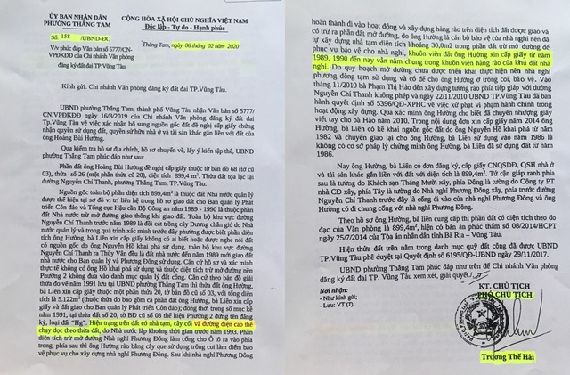 """Vụ hành dân tại TP Vũng Tàu: """"Đẩy"""" tài sản thi hành án thành tài sản công! - 10"""