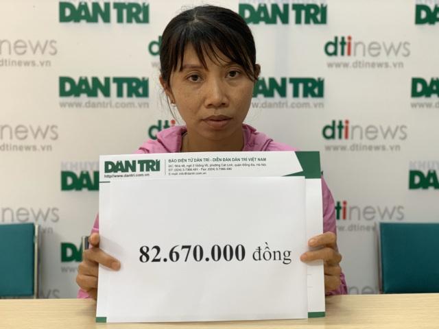 Bạn đọc giúp đỡ cô bé u não đội đơn cầu cứu gần 83 triệu đồng - 4