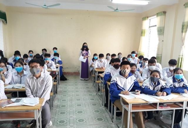 Trường học Thanh Hóa: 943 máy đo thân nhiệt, 24.566 vòi nước rửa tay - 5