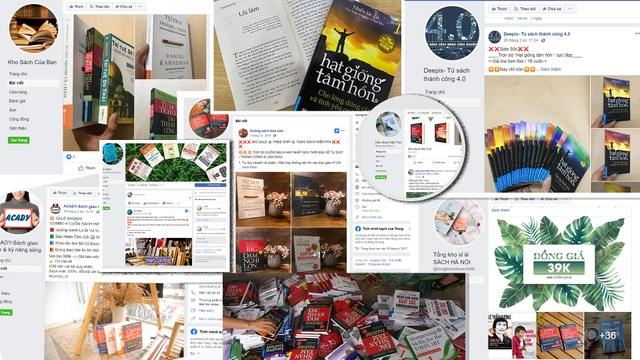 Công bố danh sách 45 fanpage chuyên bán sách giả ở việt Nam - 2