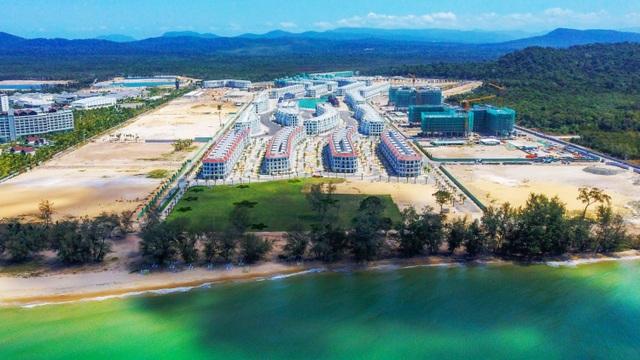 Grand World Phú Quốc: Tiến độ thần tốc, nhiều hạng mục về đích sớm - 1