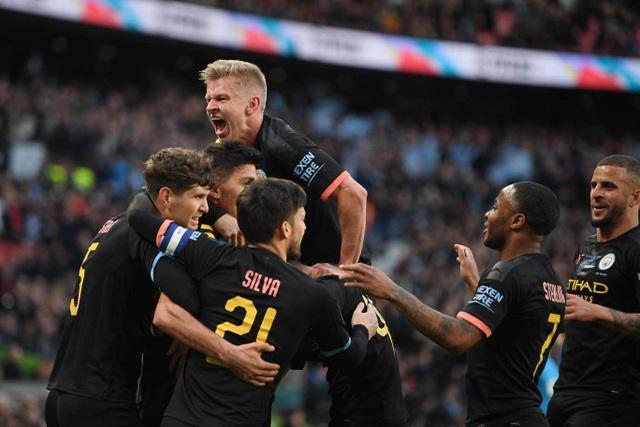Đánh bại Aston Villa, Man City vô địch Carabao Cup - 4
