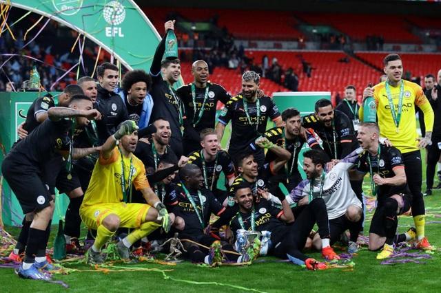 Đánh bại Aston Villa, Man City vô địch Carabao Cup - 2